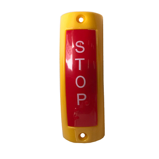 HC-B-39007 UNIVERSAL BUS BUZZER 113*38 RED/YELLOW