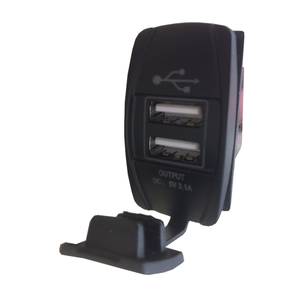 HC-B-65013 BUS USB CHARGER WITH LIGHT CE CERTIFICATE