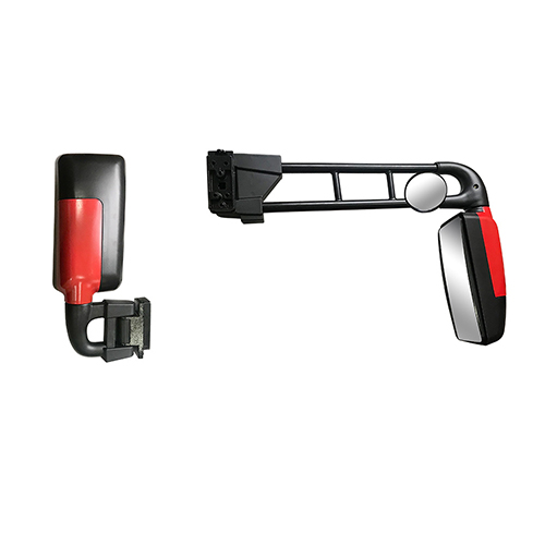HC-B-11118-1 Bus Mirror Rearview Mirror Bus Mirror Glass for 10-12 Meters Red Black