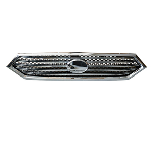 HC-B-35248 Yutong front grille aluminum grille bus accessories