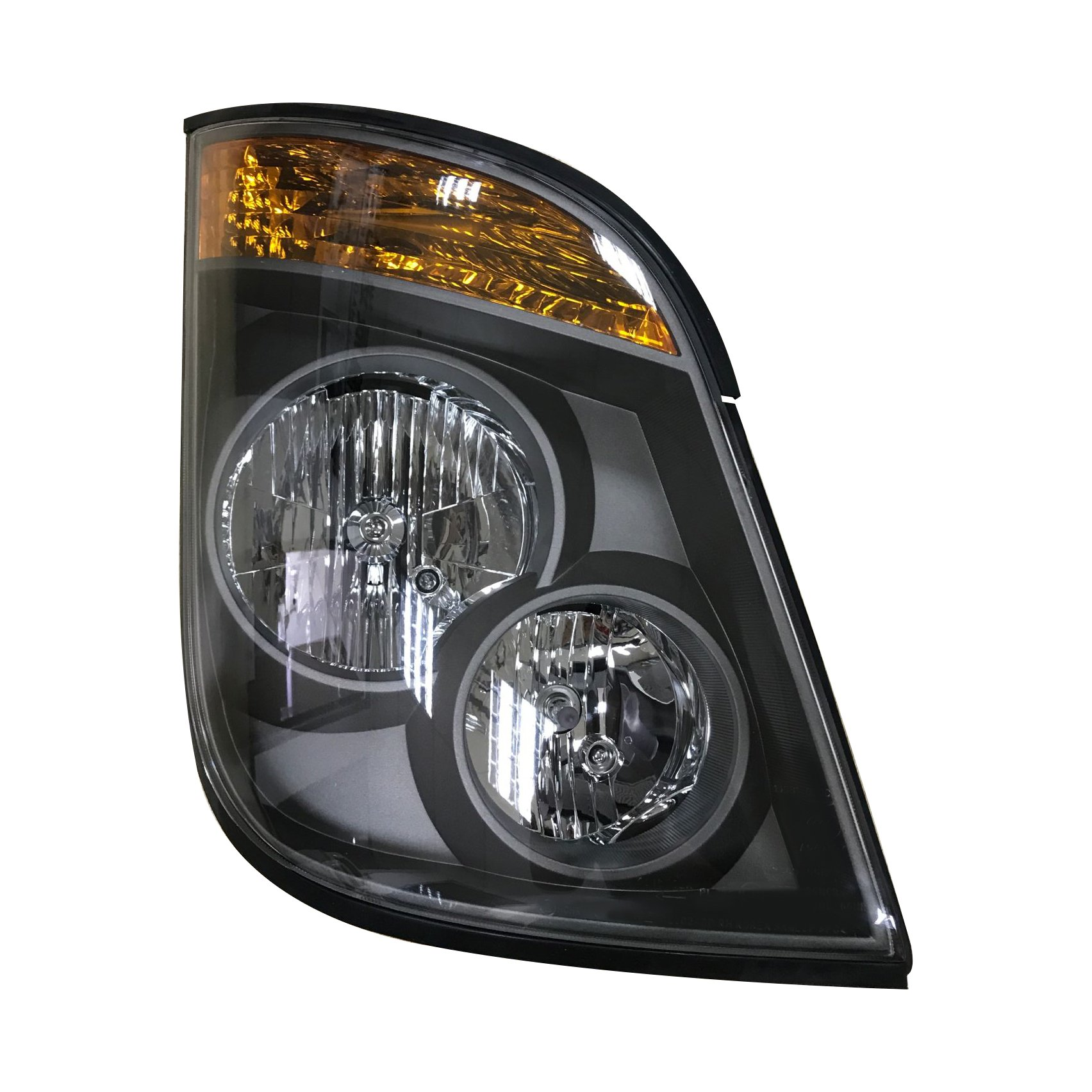 HC-B-1082-2 Hyundai Bus Head Lamp for Universe Black