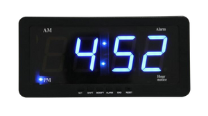 HC-B-53024 DIGITAL CLOCK W/O CIGARETTE LIGHTER