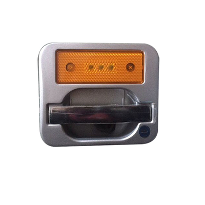 HC-B-10024-1 BUS LOCK LUGGAGE WAREHOUSE LOCK ALUMINUM ALLOY CHROME HANDLE WITH 3 BULB