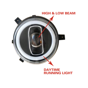 HC-B-1658 Bus Headlamp Led Headlight with High Low Beam Daytime Running Light